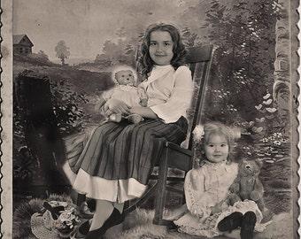 Antique Cabinet Cards Photoshop Instant Digital Downloads