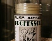 PROFESSOR. Solid natural cologne stick.  Worldly and sophisticated!  Spicy citrus blend.