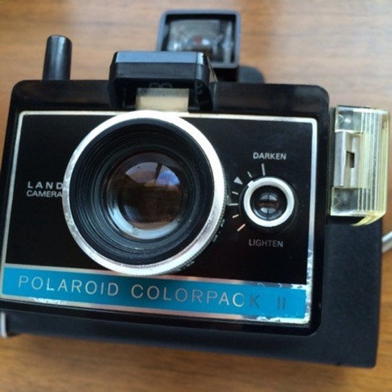 working polaroid colorpack 2 land camera film by theimaginoreaum. Black Bedroom Furniture Sets. Home Design Ideas