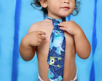 Monsters Inc Necktie Boys, Baby, Toddler  Accessory
