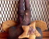 Primitive Bunny Shelf Sitter