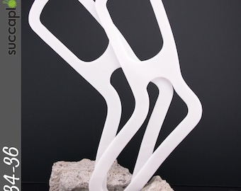 SIZE-S (PAIR = 2 BLOCKERS) -Succaplokki- Splinter free Knitting Sock Blocker's, made out of recycled plastic
