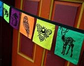 Little Animal Mini Prayer Flags