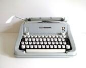 Sale! Hermes Media 3 Vintage Typewriter Manual Portable Made in Switzerland Back to School Dorm Room