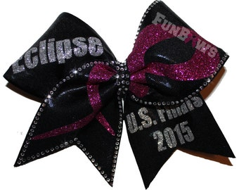 GORGEOUS Special Event Rhinestone Hairbow by FunBows ! WOW !