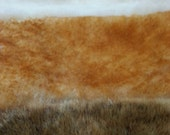 Genuine Sheepskin really warm and long scarf Canadian handmade - unisex - mixed colors on sale