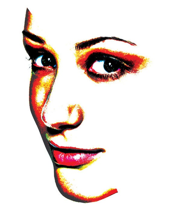 womans face png side profile clip art Digital Image Download graphics beauty fashion printables eyes lips for t shirts totes cards