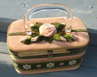 Box Purse J.R. Florida 50's.  Genuine and neat and clean For Mom's Day? or Summer.