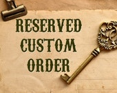 Reserved MichelleH/ Halloween / Vintage Style Holiday/ Hand Sculpted / Folk Art / Vintage Halloween