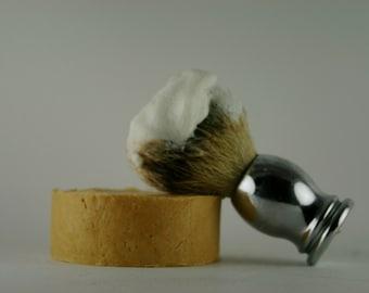 Sandalwood Artisan Shave Soap, Mens Shaving Soap, Husband Gift, Father Gift, Dad Gift