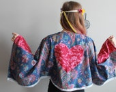 Floral Print Patchwork He...