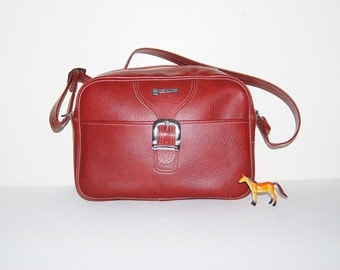 Vintage Messenger Bag Oxblood Hercules