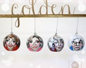 Golden Girls Christmas Ornament (Medium)