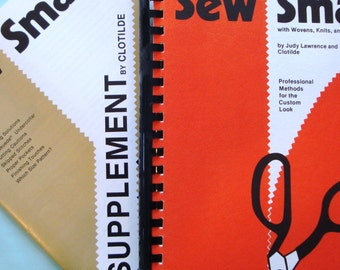 Sew Smart Sewing Book - Wovens, Knits and Ultrasured Sewing - Vintage Sewing Manual - Clotilde - Tips and Helpful Sewing Guide