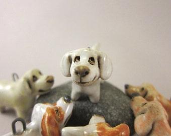 Vanilla...Portable Miniature Pet - Stoneware Pendant