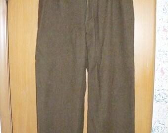 Military Surplus Wool Pants