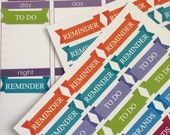 Planner Stickers To Do Errand and Reminder Stickers Fits Erin Condren Planner Day Planner Stickers