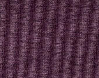 ANTIQUE VELVETEEN-Both Sides-Decorative  Designer Pillow Cover--Purple -Deep Violet  Throw/Toss/Lumbar Pillow