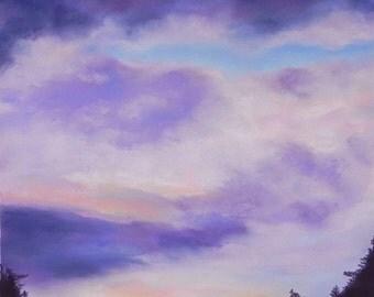 Southern Sky, giclee print