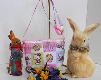 Crossbody Hello Kitty Easter Bag for Girls / OOAK