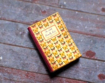 Miniature Book --- The Little Butterfly Book