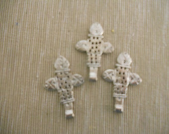 Three Silver Crosses