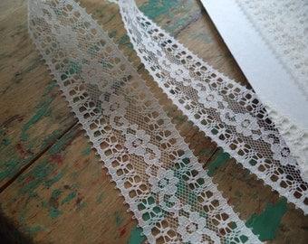 Vintage Lace Trim Remnant