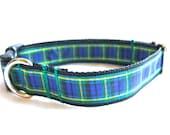 Gordon Tartan Small/Medium Dog Collar