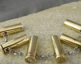 38 Special Brass Bullet Bracelet