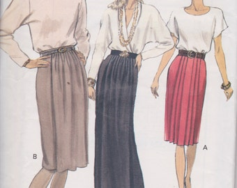 Vogue 7864 Misses'/ Misses' Petites Skirt Sizes 12, 14, 16 Vintage UNCUT Pattern Rare and OOP