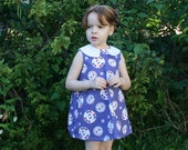 Hello Kitty Dress with Peter Pan Collar - Size 4T
