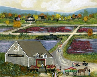 Makepeace Farm - Limited Edition Print _ by J.L. Munro