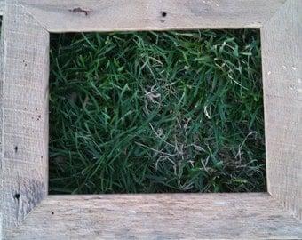 8 x 10 inch Tan Oak Barn wood Frame FREE SHIPPING-TOBWF35F