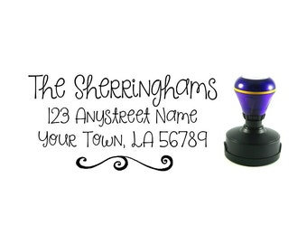 Personalized Self Inking Address Stamp - Return address stamp R192