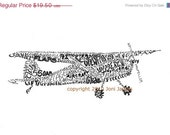 Airplane Art or Aircraft and Aviation Art Typography Illustration Print, Airplane Word Art Illustration Gift for Pilots, pen & ink drawing