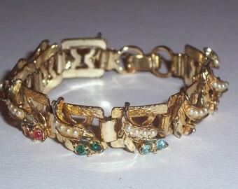Vintage Multi Color Stone Bracelet