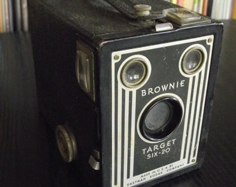 1940's Kodak Brownie Target Six-20 Box Camera