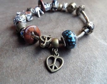 Bohemian Charm Bracelet European Style B1