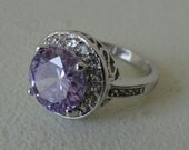 Lavender Pink Purple Ring