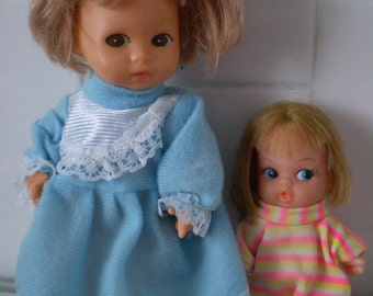 SALE Set of 2 Amanda Jane Doll And playmates mini Mod Doll