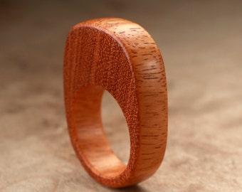 Size 8 - Osage Orange Wood Ring No. 63