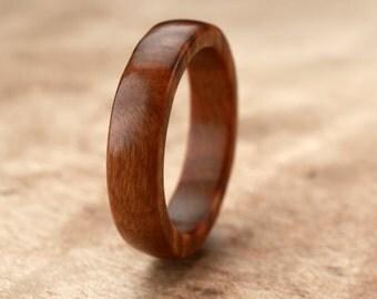Custom Guayacan Wood Ring - 5mm