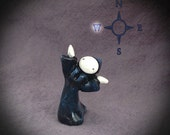 Night Moon Sisters WEST Mini Poppet by Lisa Snellings