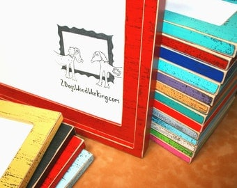 colored picture frame, 6x6 or 7x7 frame, Colorful frame, square frames, distressed rustic frame, shabby frame, weathered frame, 67 colors