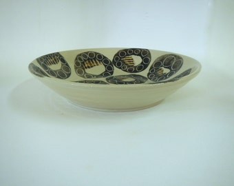 Contemporary Stoneware Serving Bowl