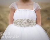 The Crown Jewel Flower Girl Tutu Dress