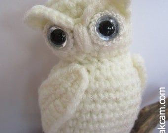Crochet Pattern For Pikachu Doll : Items similar to Amigurumi Owl Pattern on Etsy