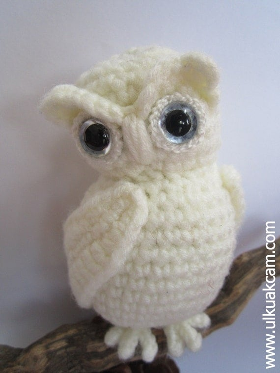 Crochet Pattern For Pikachu Doll : Amigurumi Snowy Owl Pattern