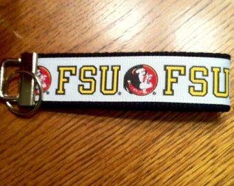 College Key Fob Keychain