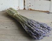 Dried Lavender Bouquet /  French Lavender Bunch /  DIY Rustic Wedding Decor / Barn Wedding Decor